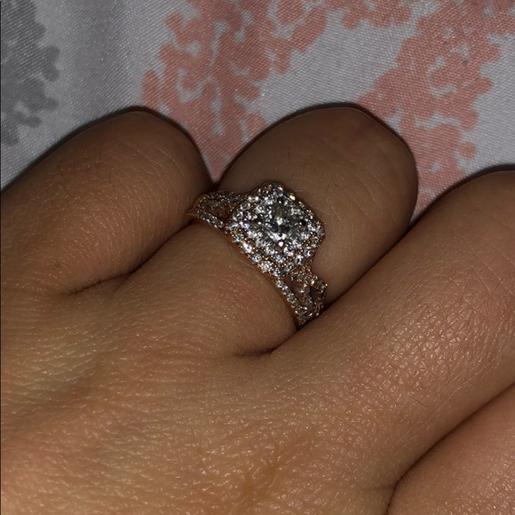 Wedding Rings Kay Jewelry.Rose Gold Engagement Ring Size 5 5